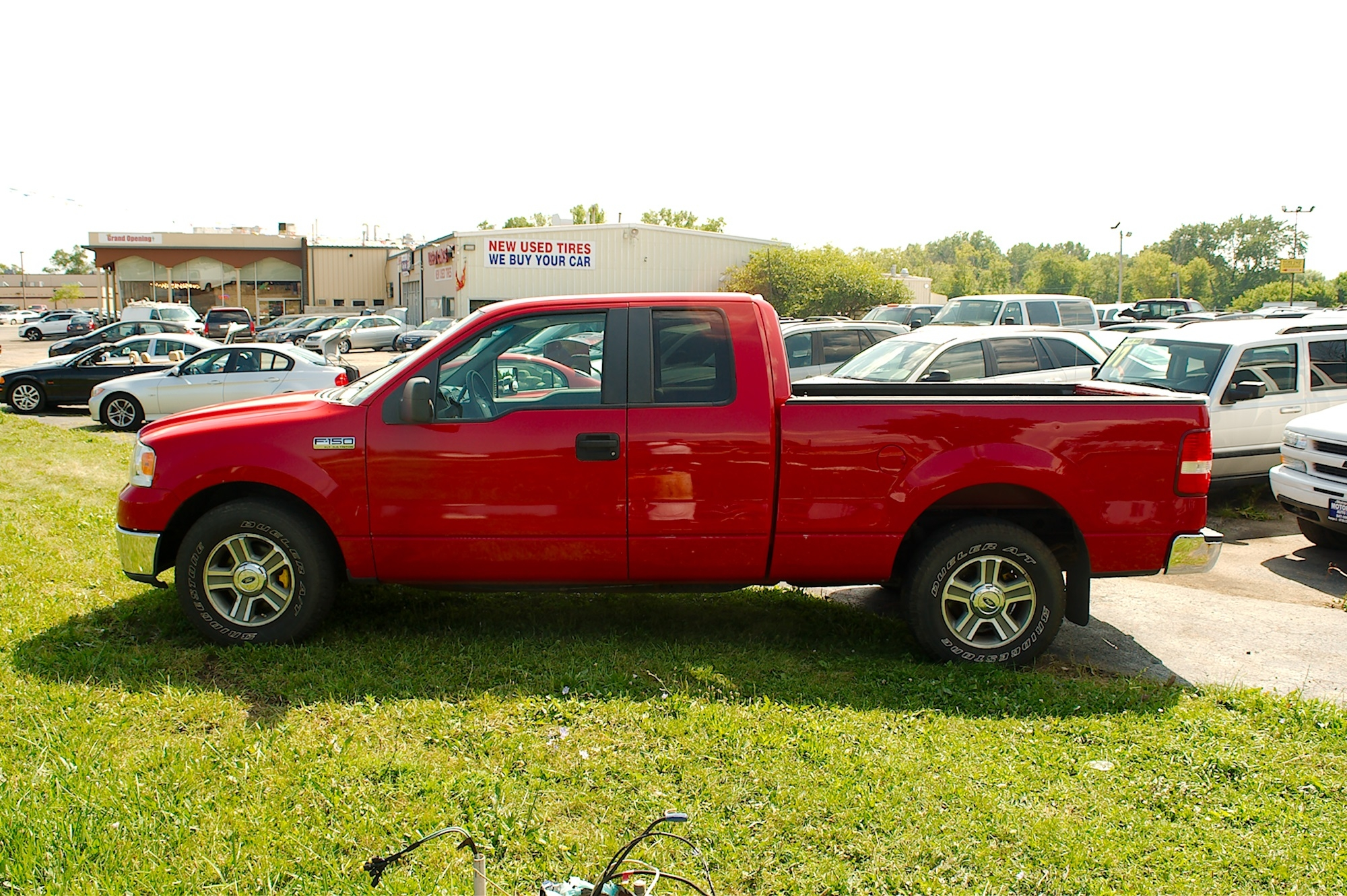 2007 Ford F150 Red 4X2 Used Pickup Truck Sale Bannockburn Barrington Beach Park