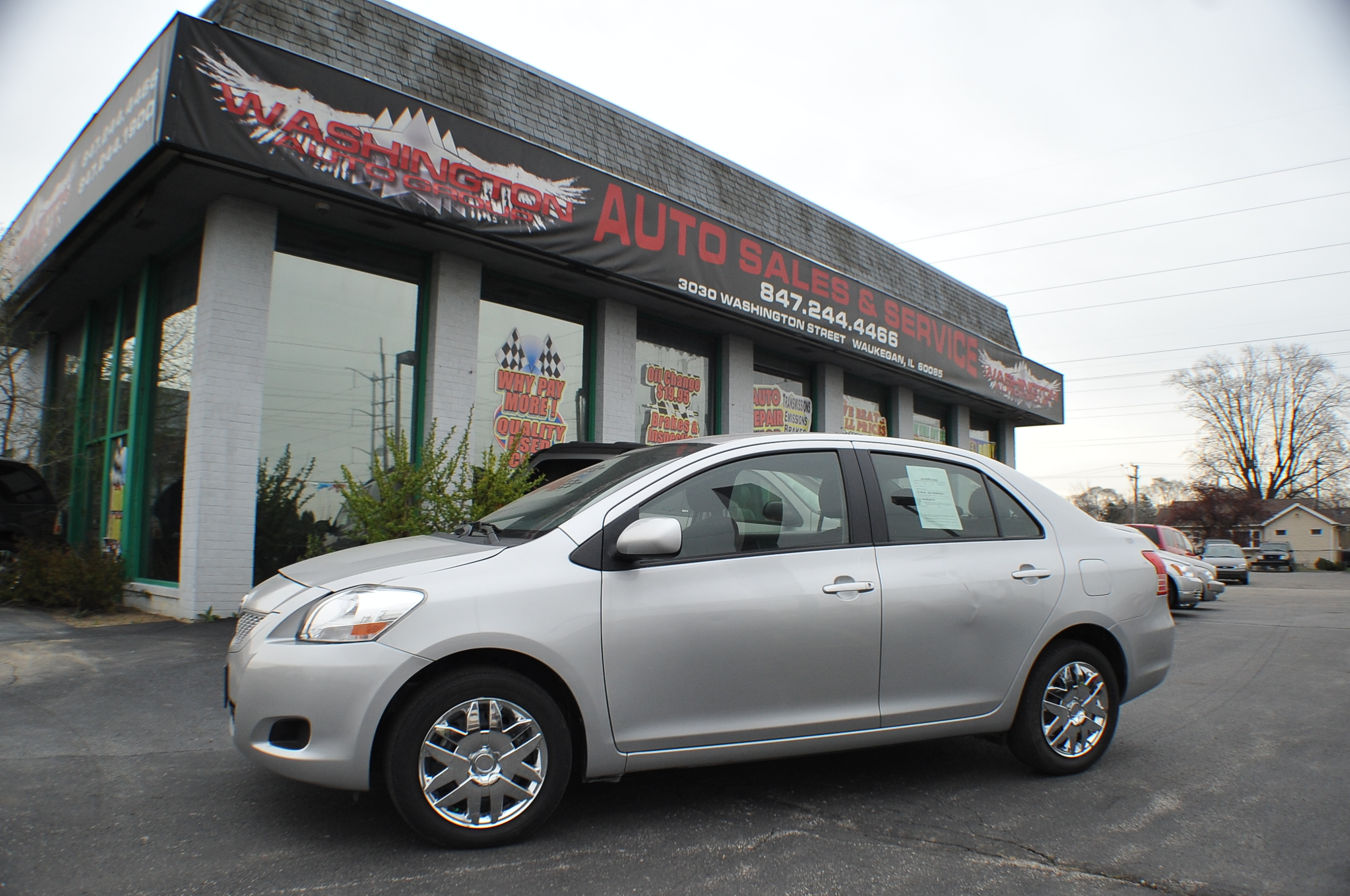 2012 Toyota Yaris used sedan car sale Antioch Zion Waukegan