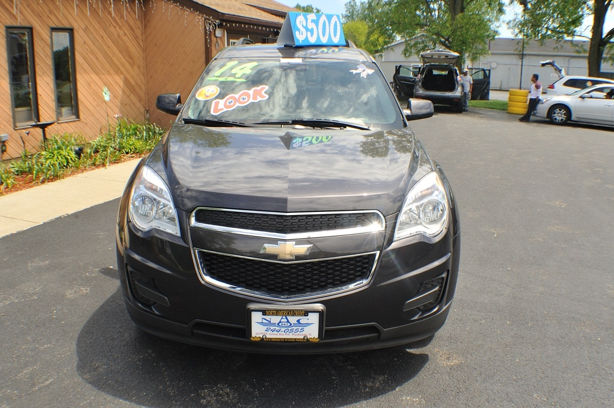 2014 Chevrolet Equinox LT Gray Used SUV Sale Gurnee Kenosha Mchenry Chicago Illinois