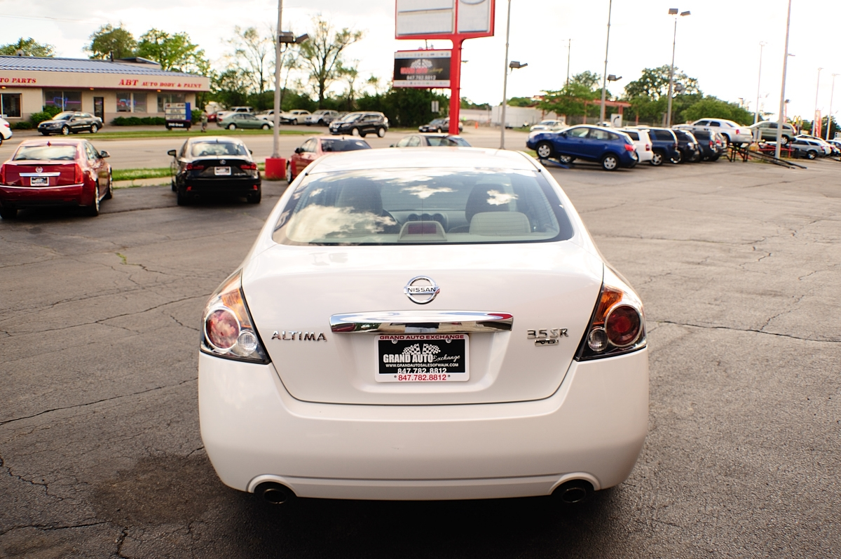 2010 Nissan Altima SR White Sport Sedan Sale Buffalo Grove Deerfield Fox Lake