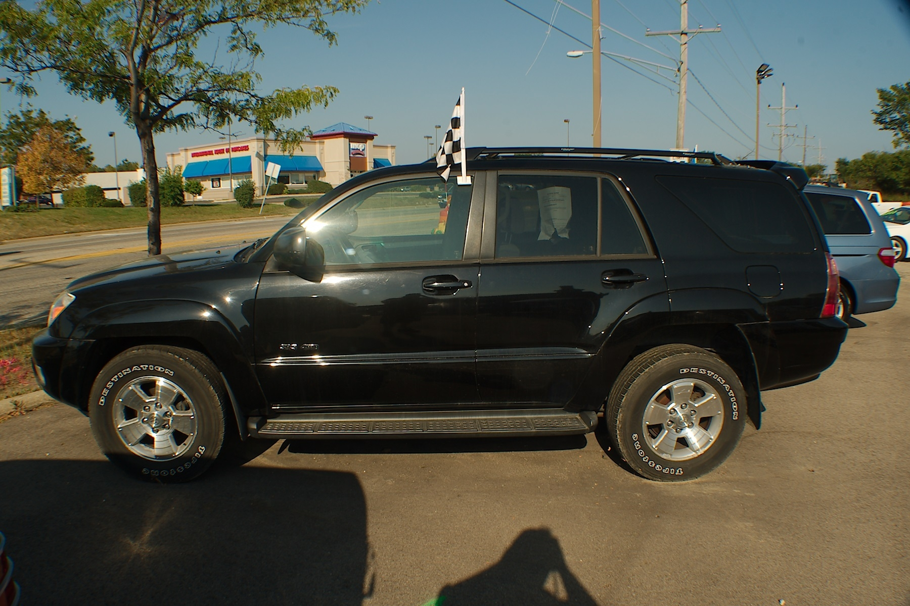 2005 Toyota 4Runner Black SUV 4x4 Used Car Sale Antioch Zion Waukegan Lake County Illinois