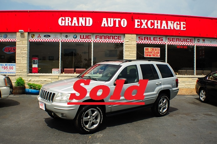 2002 Jeep Grand Cherokee Silver Quadra Drive AWD