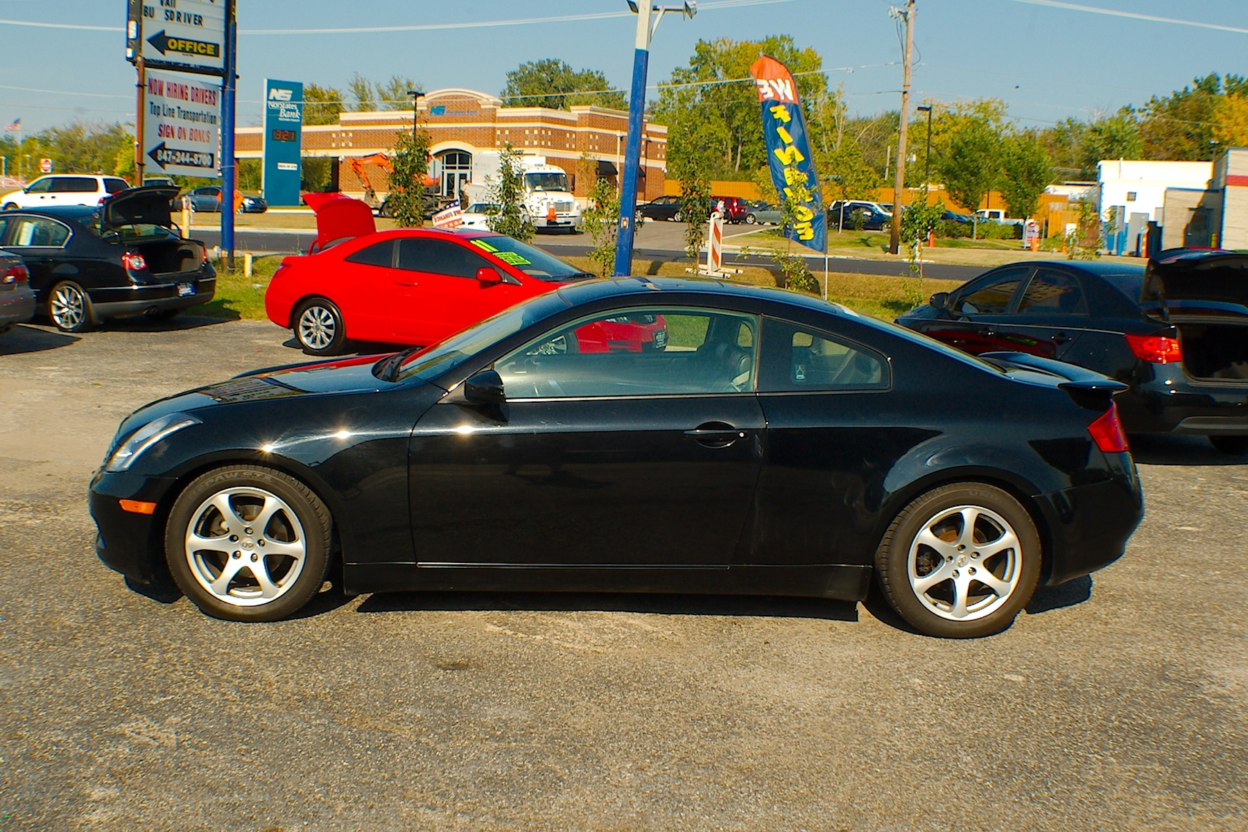 infinity coupe rwd sale infiniti used for