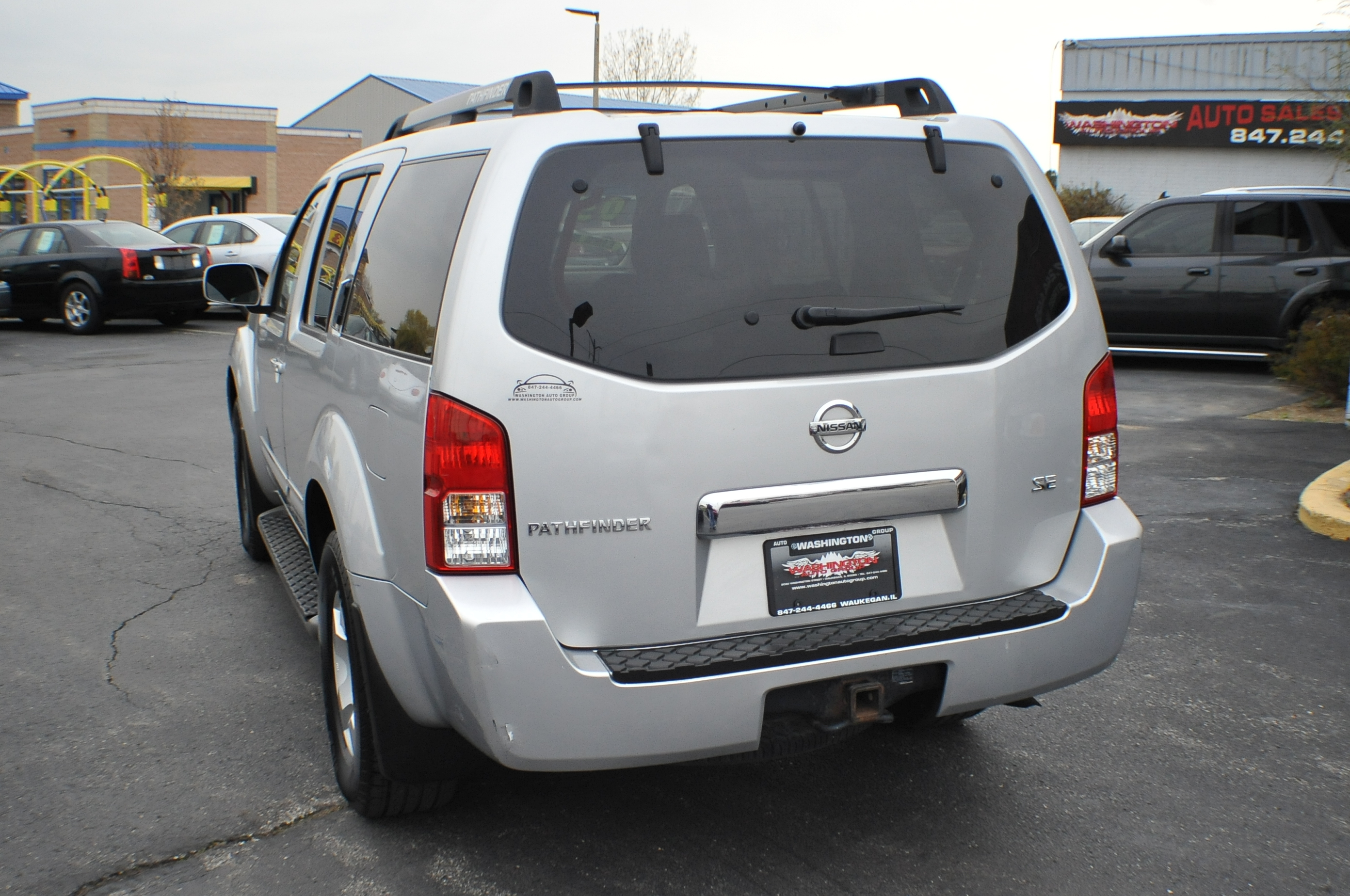 2005 Nissan Pathfinder SE Silver Used SUV 4x4 Sale Buffalo Grove Deerfield Fox Lake