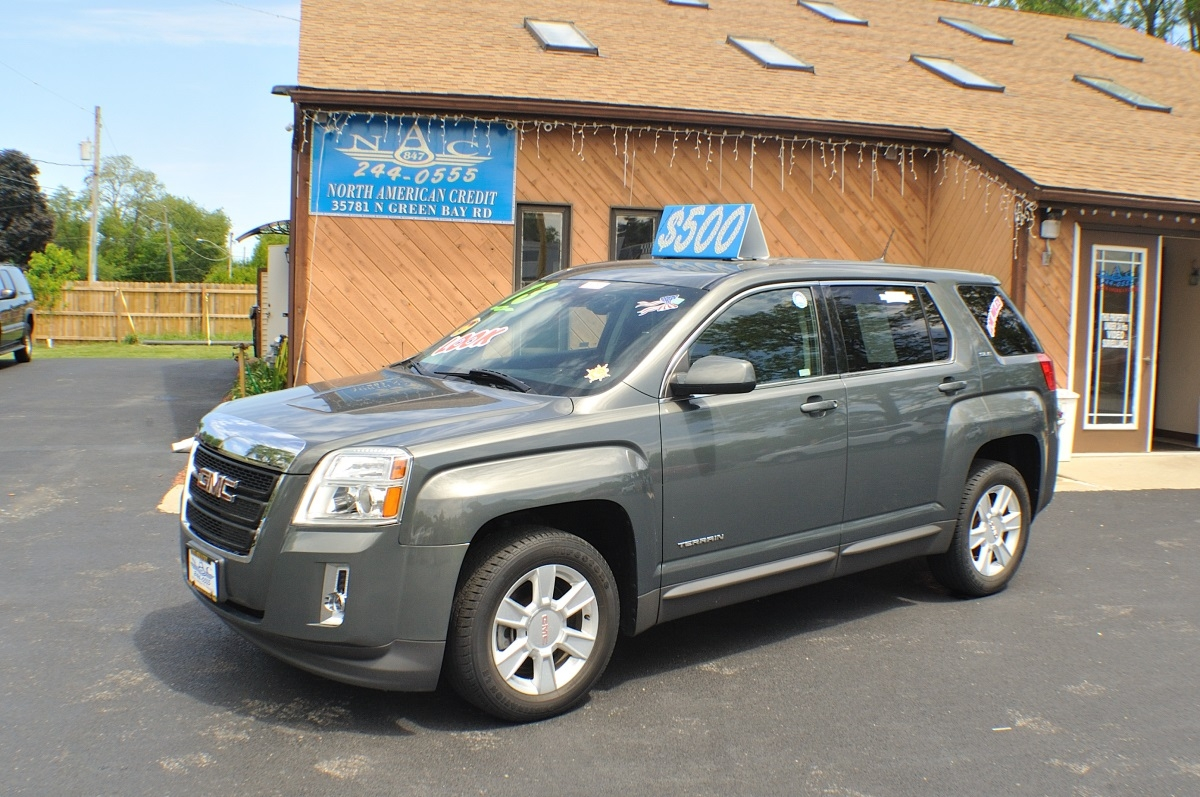 2013 gmc terrain sle gray used suv sale. Black Bedroom Furniture Sets. Home Design Ideas