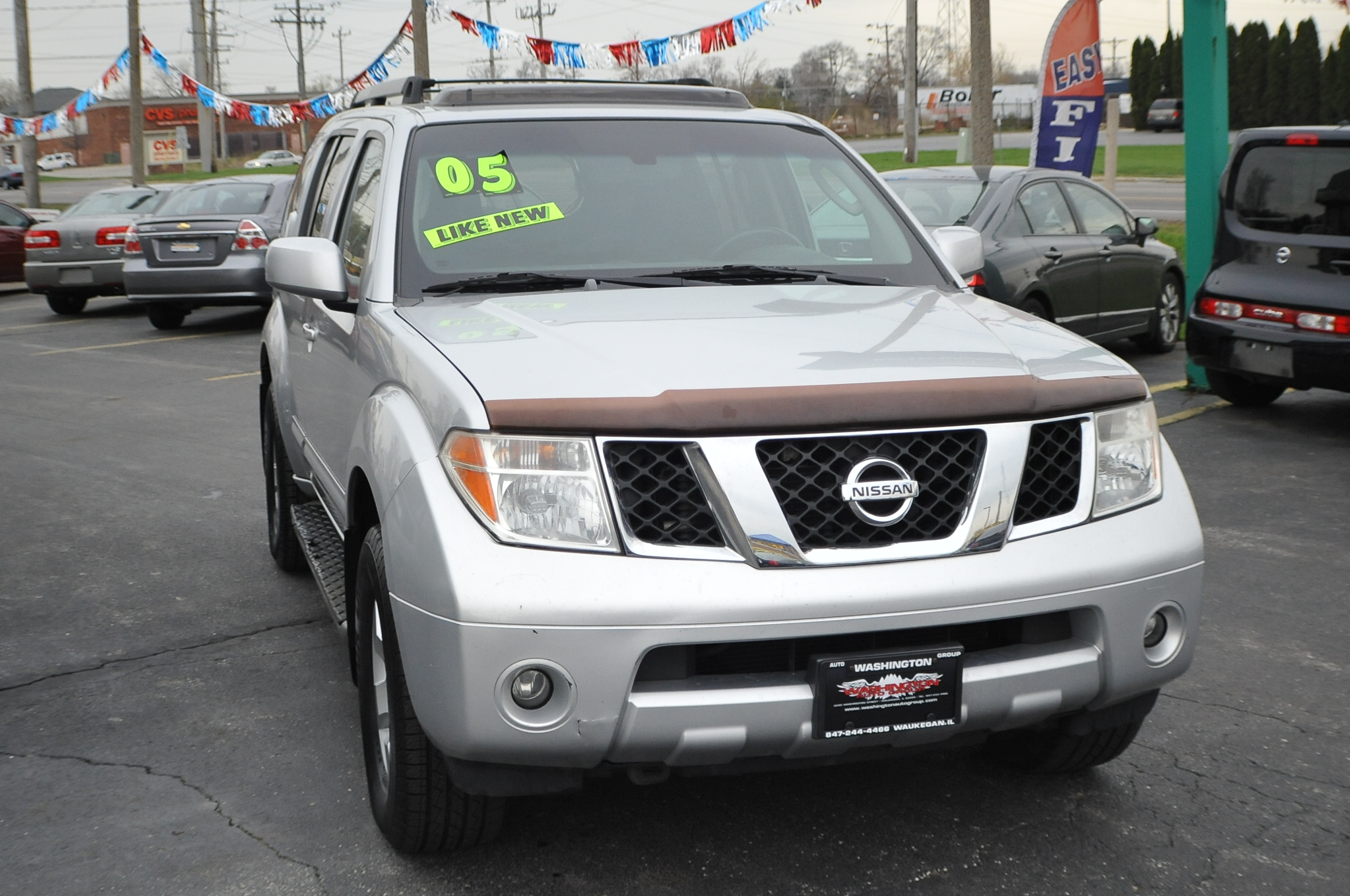 Used Suv For Sale By Owner >> 2005 Nissan Pathfinder SE Silver SUV 4x4 Sale Washington Auto