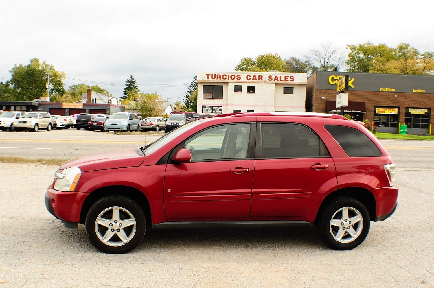 2006 Chevrolet Equinox Red 4x2 SUV used car sale Antioch Zion Waukegan Lake County Illinois