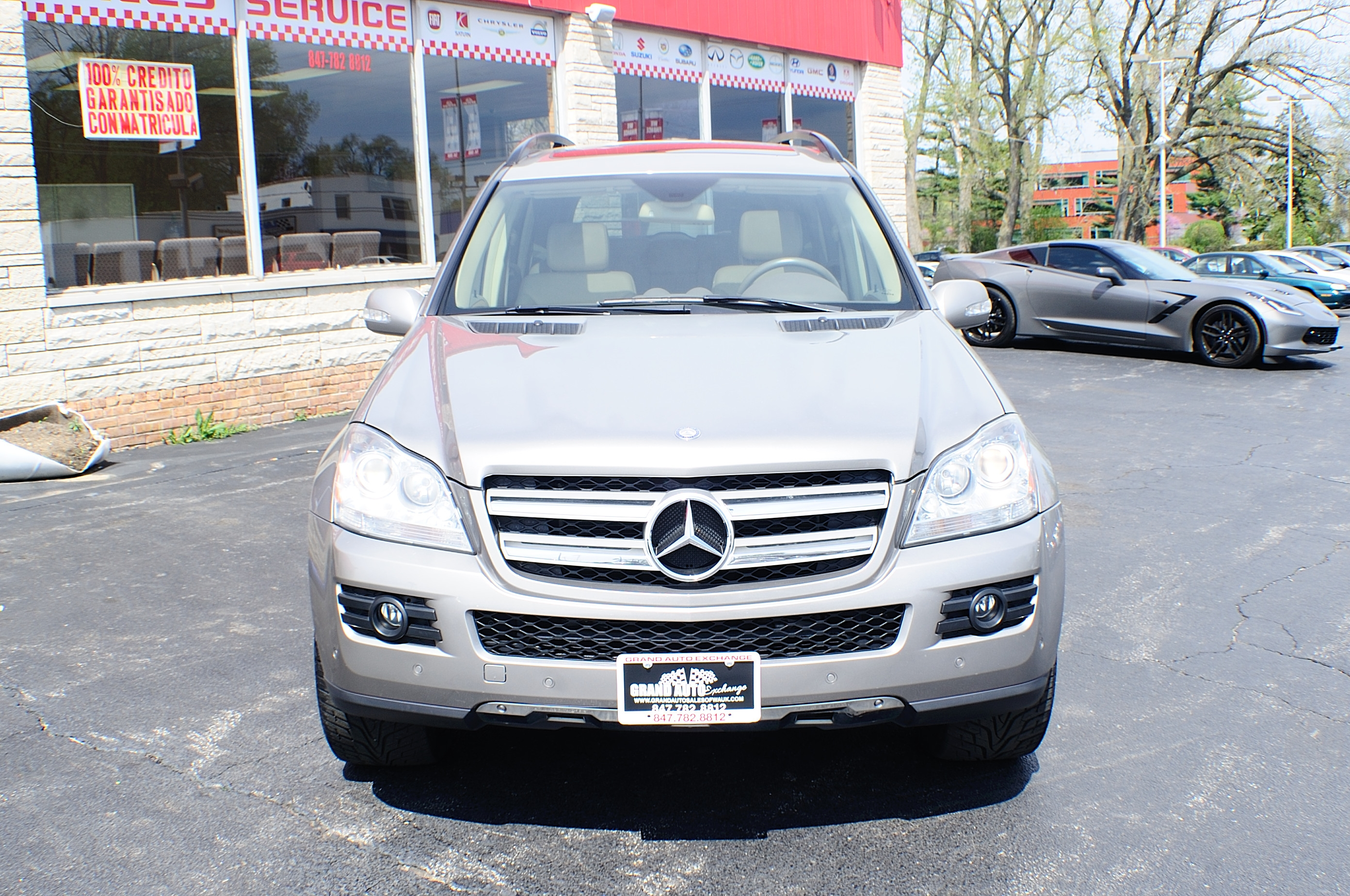 2008 Mercedes Benz GL450 Sand Used 4x4 SUV Sale Gurnee Kenosha Mchenry Chicago Illinois