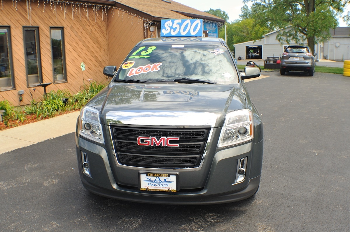 2013 GMC Terrain SLE Gray Used SUV Sale Gurnee Kenosha Mchenry Chicago Illinois