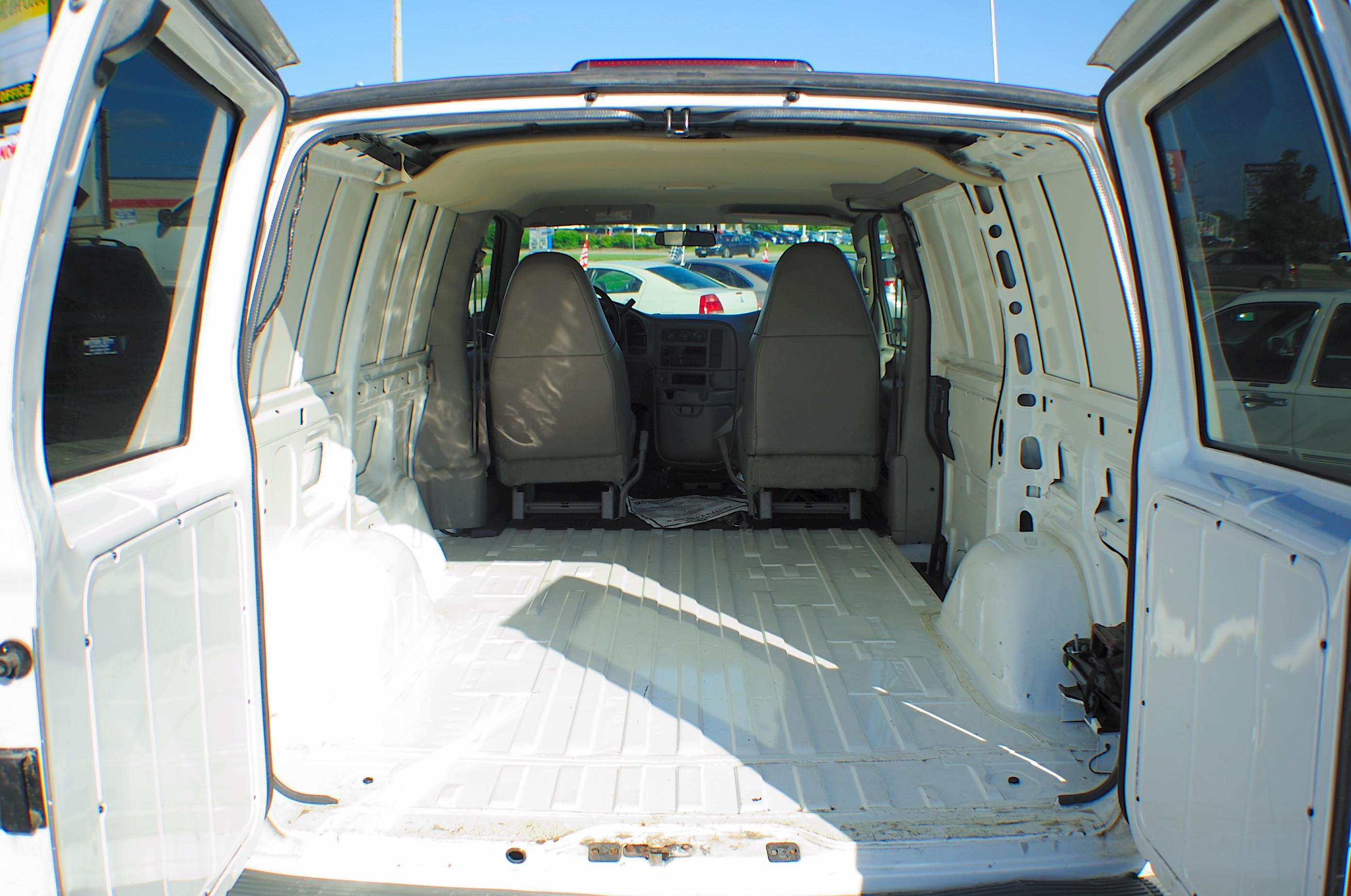 2005 Chevrolet Astro White Used Commercial Work Van Sale Pleasant Prairie Winthrop Harbor