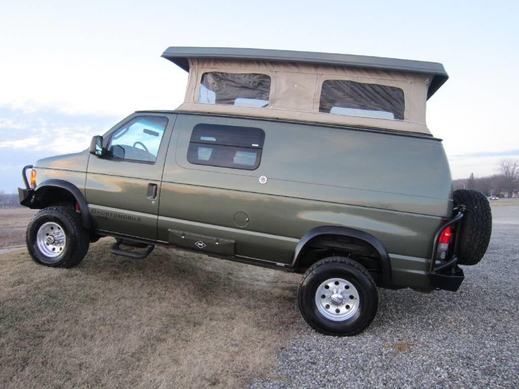 2004 Ford Sportsmobile RB50 Pewter 4x4 Poptop RV Sale Buffalo Grove Deerfield Fox Lake Antioch