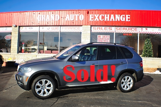 2007 BMW X5 Gray 4x4 Sport Used SUV Sale Antioch Zion Waukegan