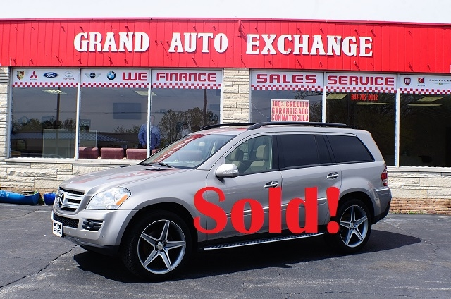2008 Mercedes Benz GL450 Sand Used 4x4 SUV Sale Antioch Zion Waukegan Lake County Illinois