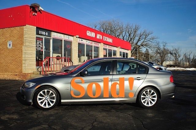2009 BMW 328i Blue Used Sport Sedan Sale Antioch Zion Waukegan