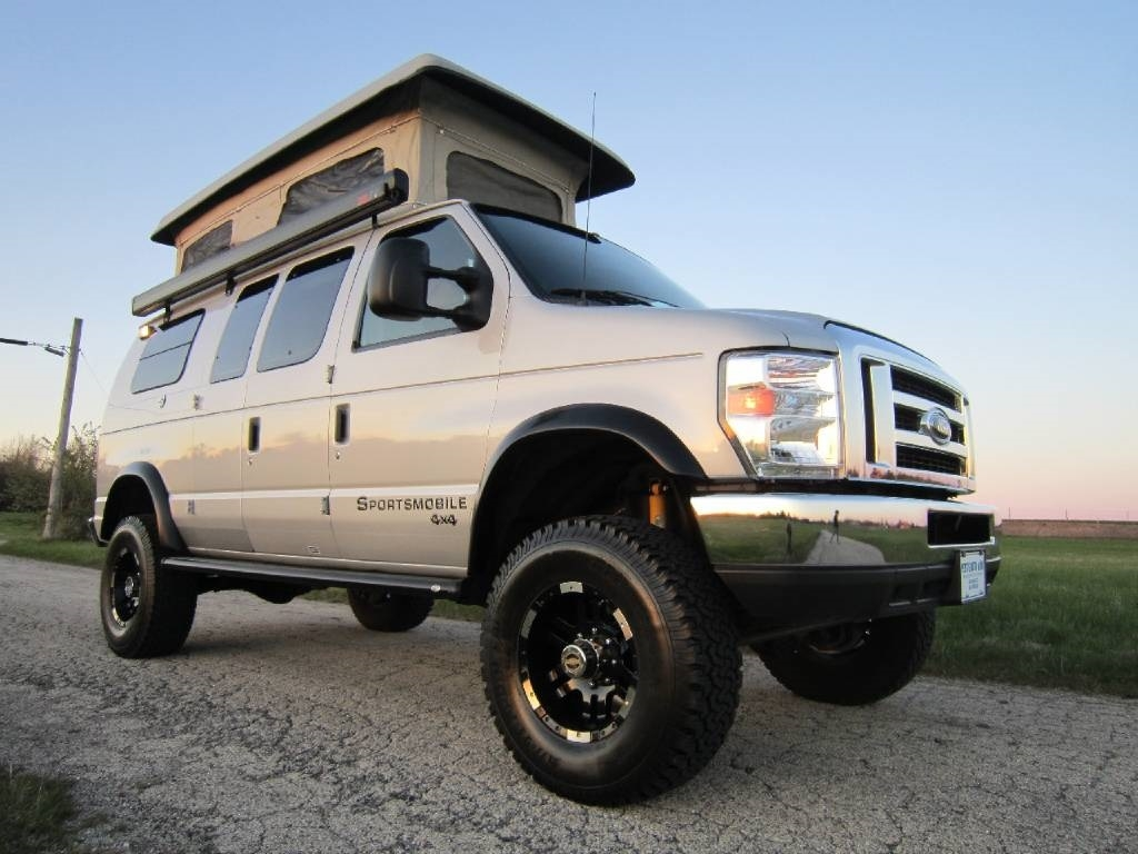 Sportsmobile 4x4 For Sale >> 2009 Ford Sportsmobile Rb30 Pewter 4x4 Rv Sale