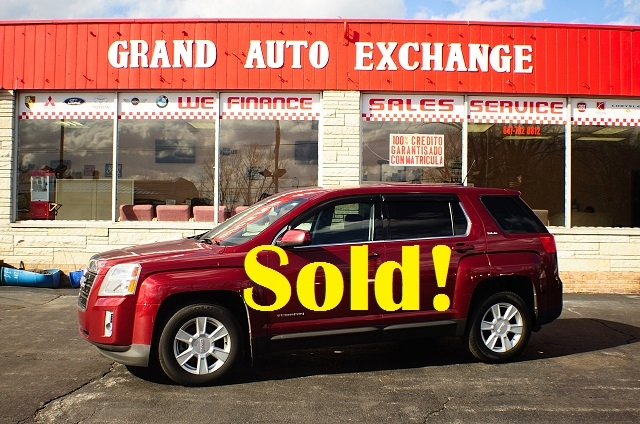 2010 GMC Terrain AWD Red SLE Sport SUV Used Car Sale Antioch Zion Waukegan