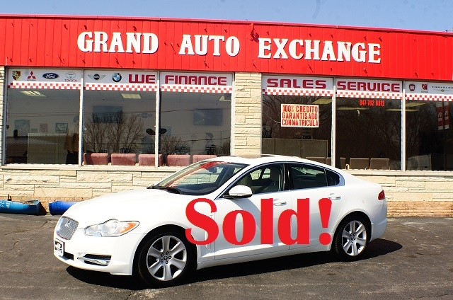 2011 Jaguar XF White sedan Used Car Sale Antioch Zion Waukegan