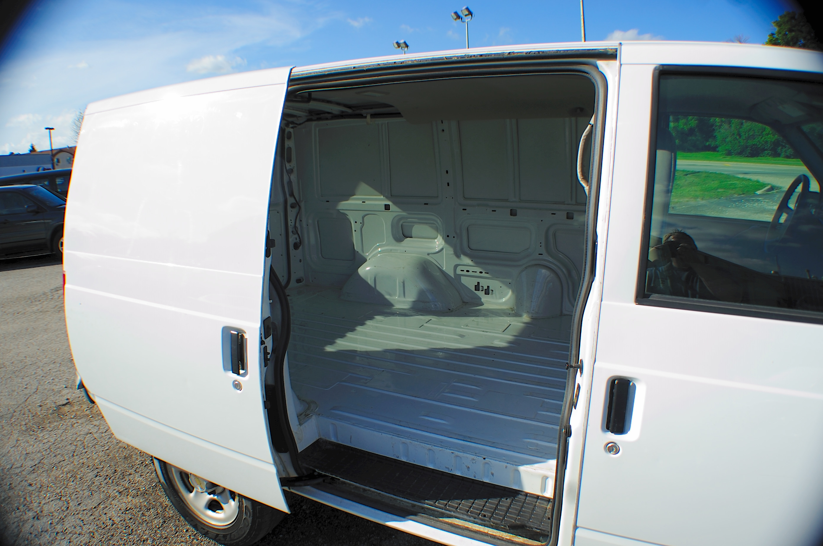 2005 Chevrolet Astro White Used Commercial Work Van Sale Chicago Lindenhurst