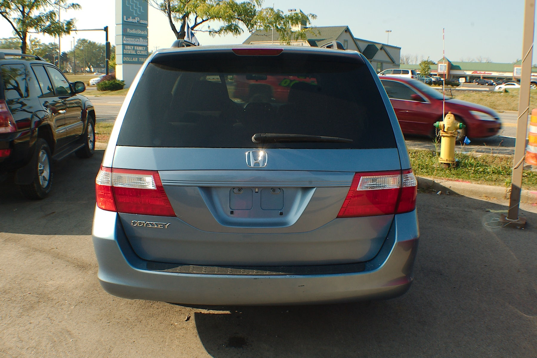 2006 Honda Odyssey Blue Used Mini Van Sale Buffalo Grove Deerfield Fox Lake Antioch