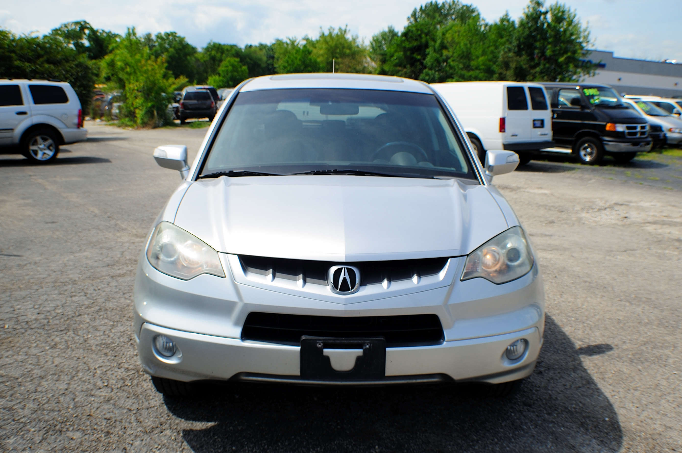 2007 acura rdx awd turbo silver sport wagon sale. Black Bedroom Furniture Sets. Home Design Ideas