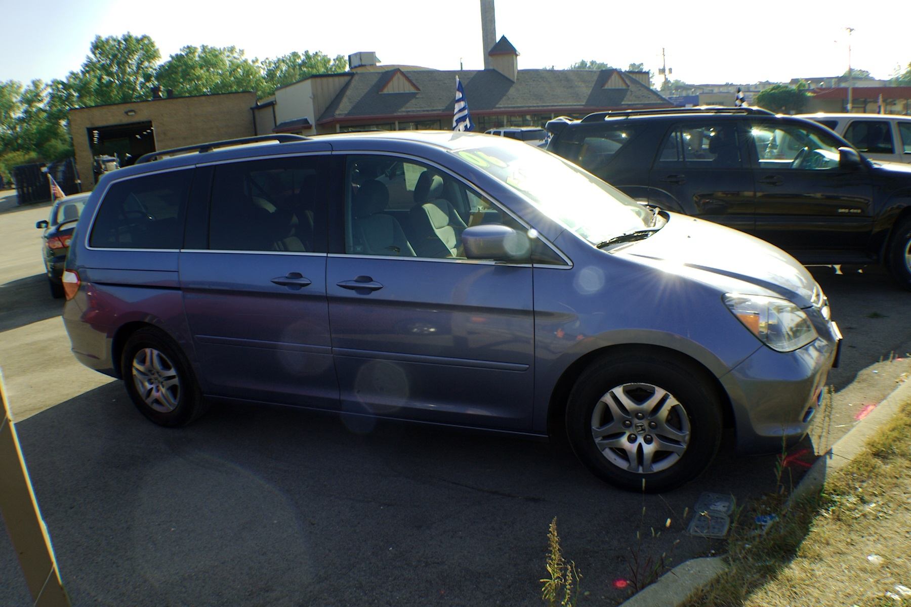 2006 Honda Odyssey Blue Used Mini Van Sale Bannockburn Barrington Beach Park