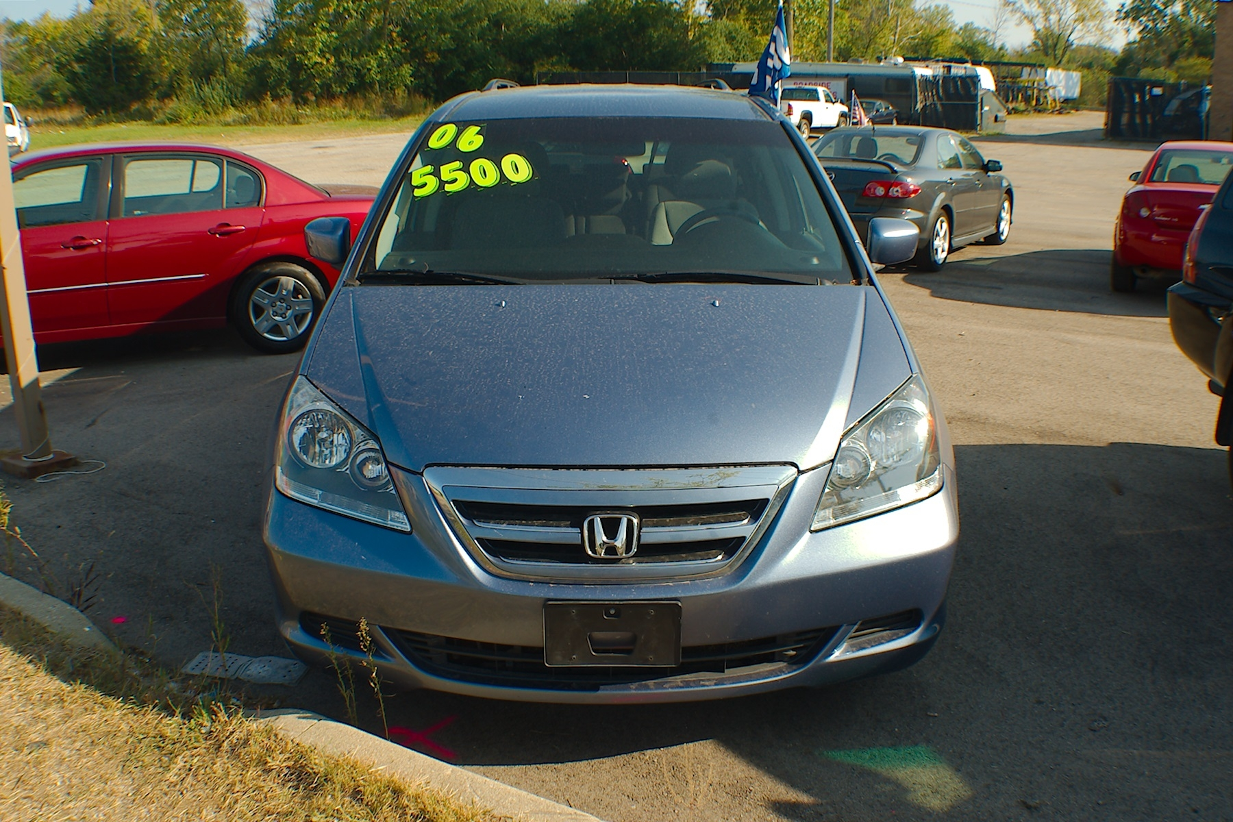 Honda Dealers Illinois >> 2006 Honda Odyssey Blue Used Mini Van Sale