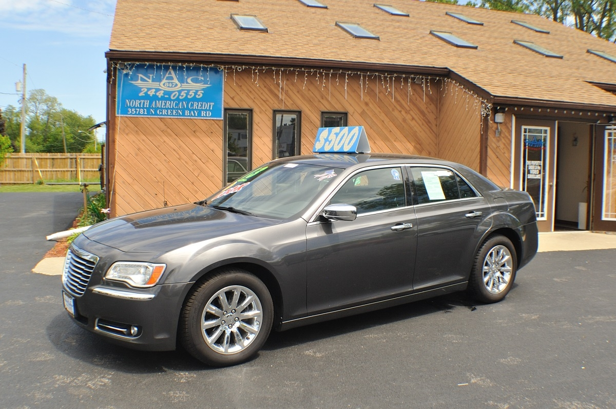 2013 chrysler 300c gray used sedan sale antioch zion waukegan lake county illinois
