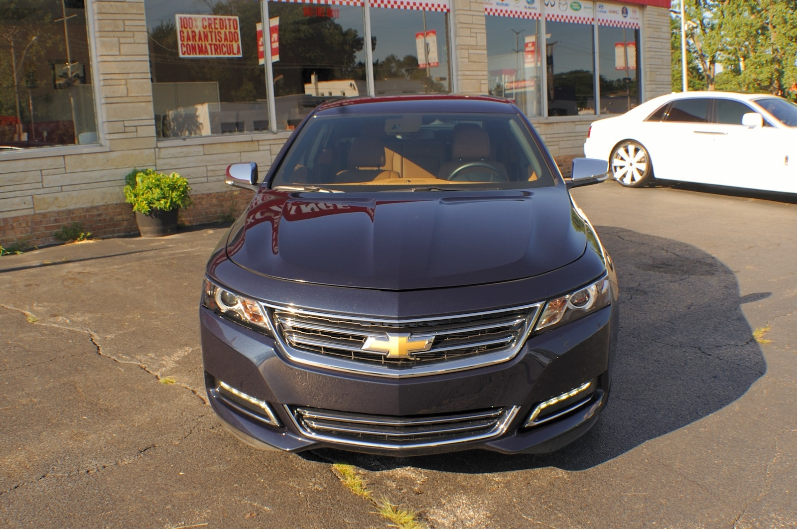 2014 Chevrolet Chevy Impala LTZ Blue Sedan Used Car Sale Gurnee Kenosha Mchenry Chicago Illinois