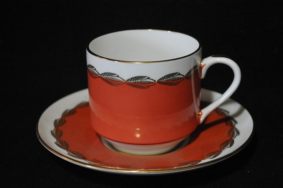 Vintage Aynsley England Bone China Tea Cup Saucer Set