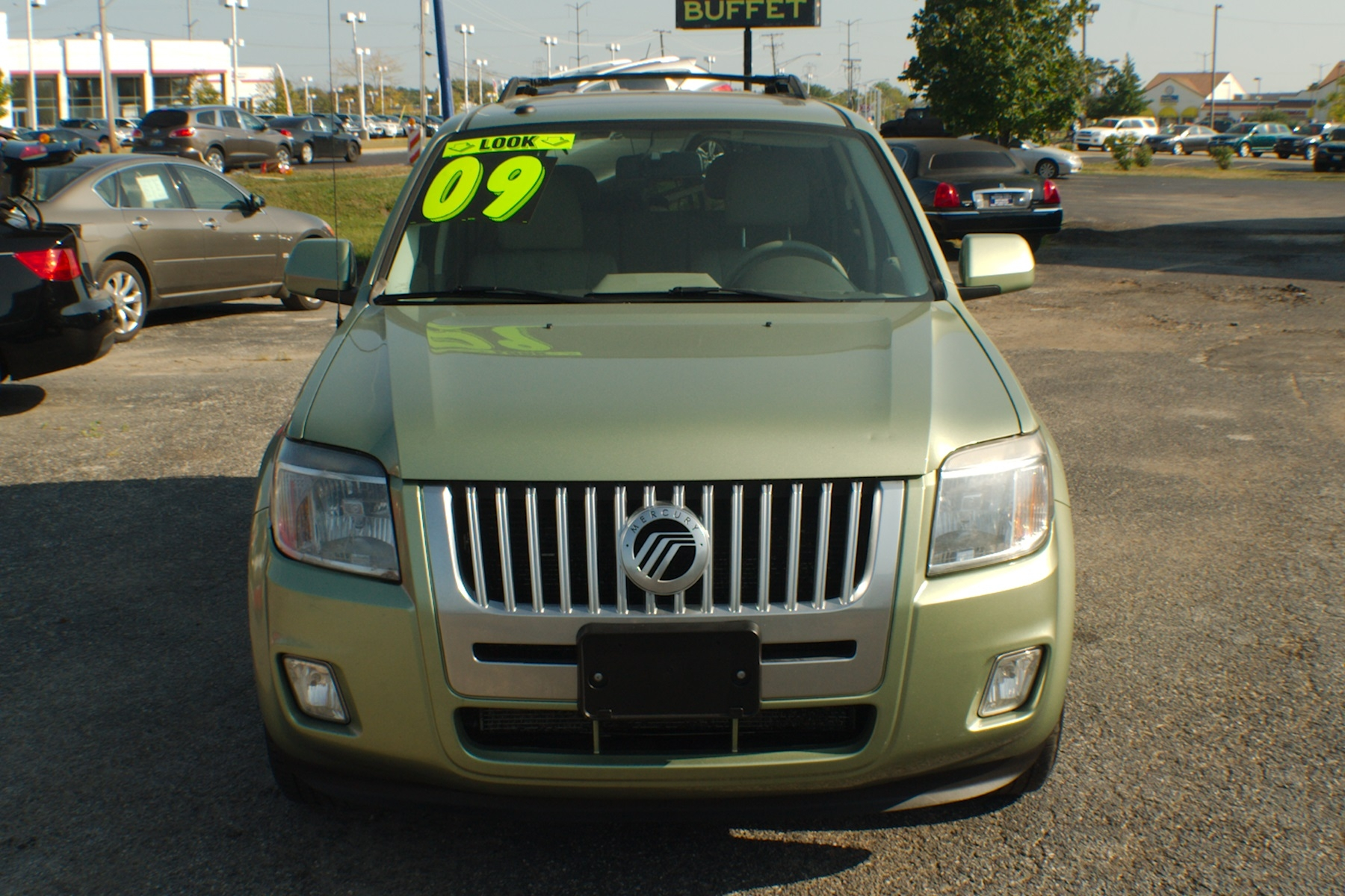 2009 Mercury Mariner Green SUV Used Car Sale Gurnee Kenosha Mchenry Chicago Illinois