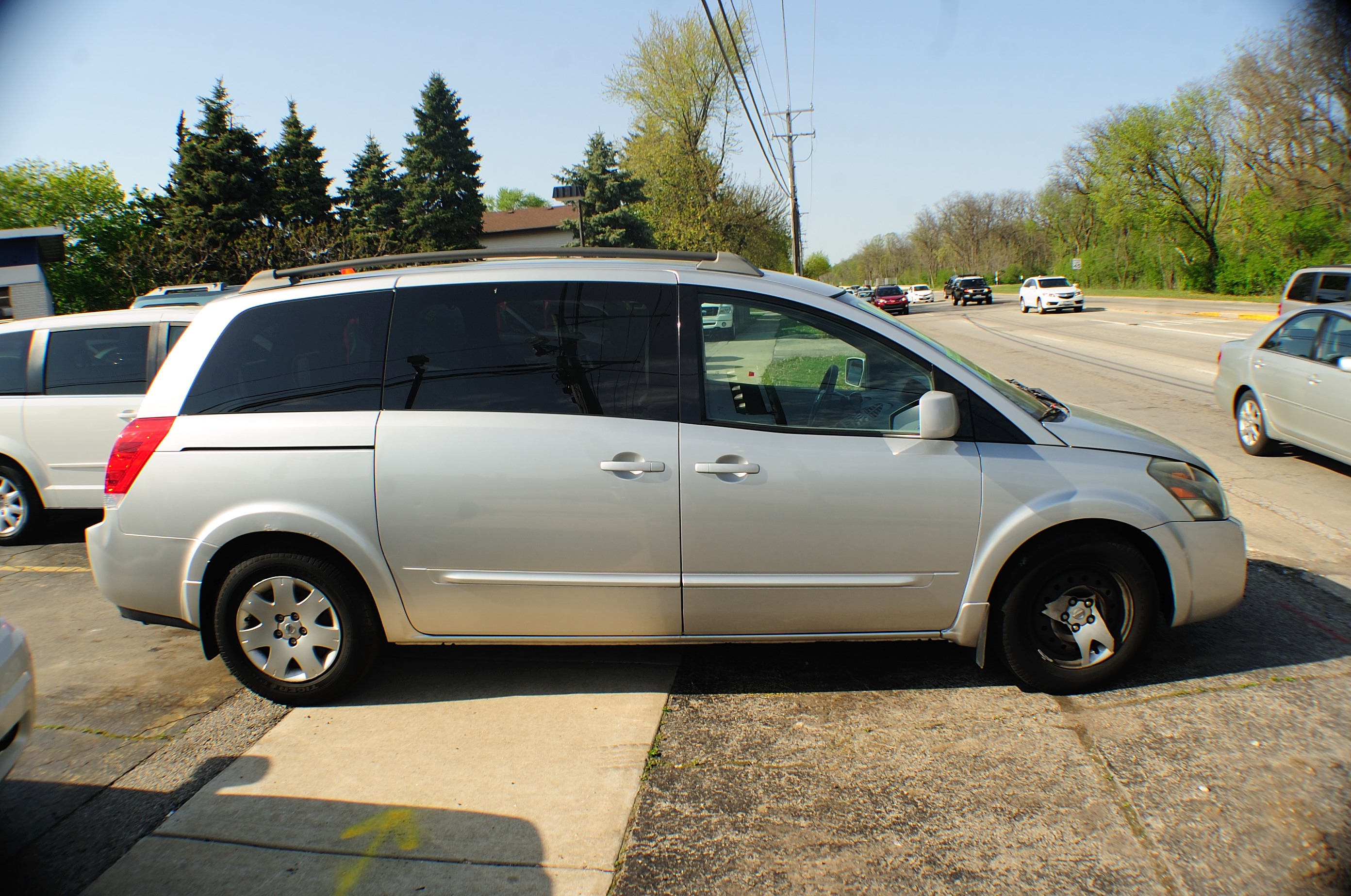 2006 Nissan Quest Silver Used Mini Van used car sale Buffalo Grove Bollingbrook Carol Stream