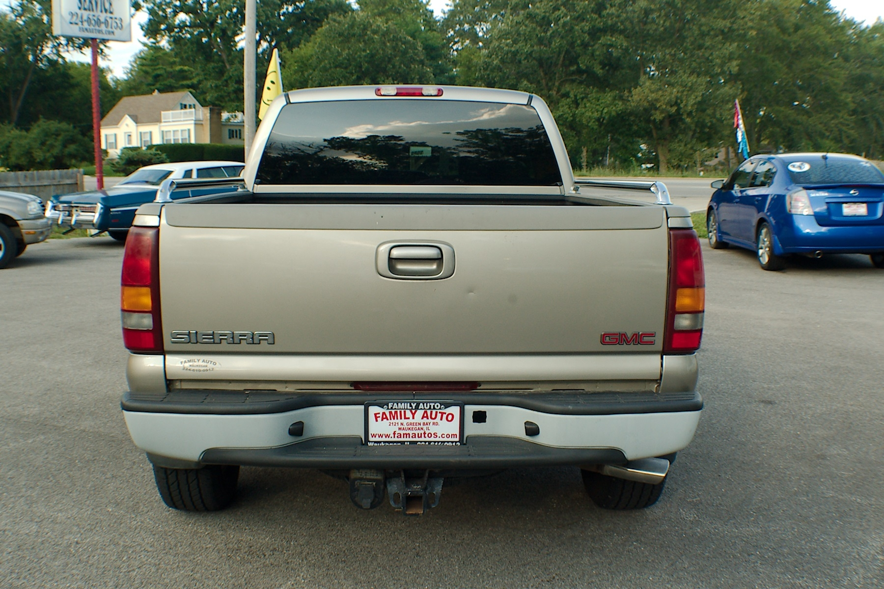 2002 GMC Sierra Pewter Used 4x4 4dr Used Truck Sale Buffalo Grove Deerfield Fox Lake Antioch