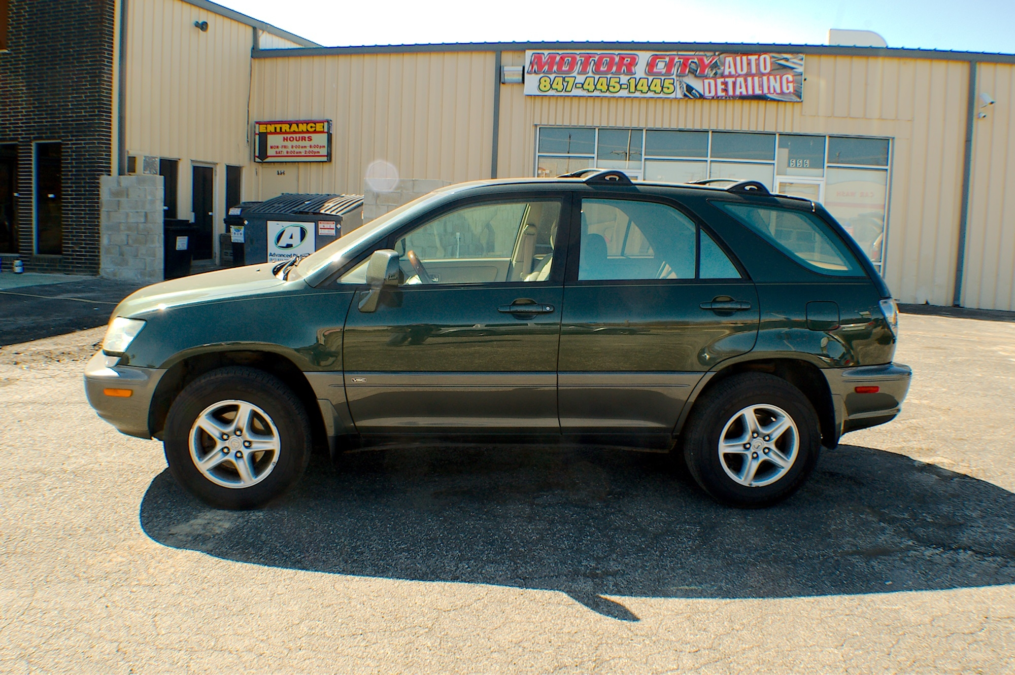 2001 Lexus RX300 Green Used SUV Sale Buffalo Grove Deerfield Fox Lake Antioch