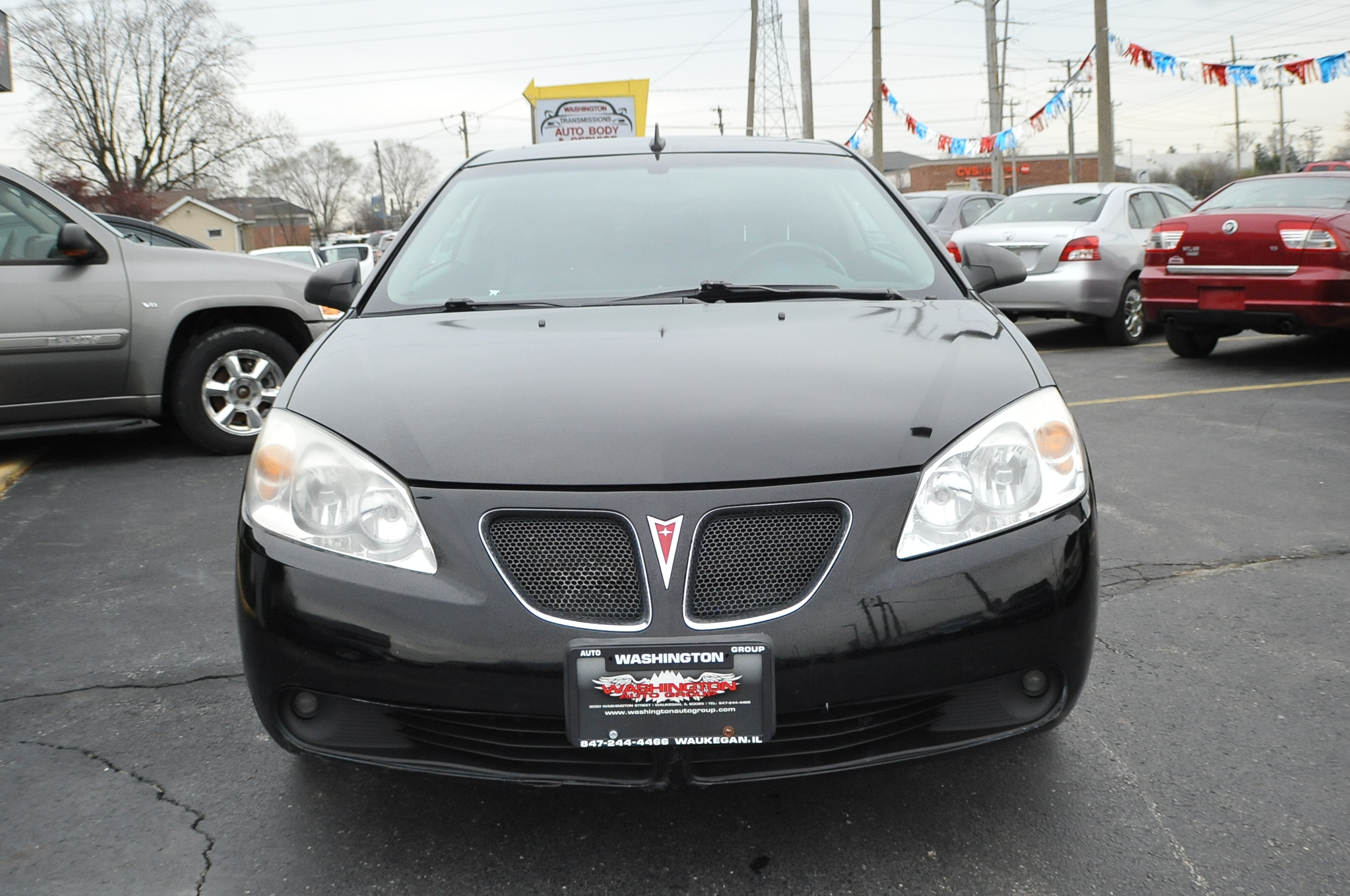 Local Car Dealers >> 2008 Pontiac G6 Black GT Coupe Used Car Sale