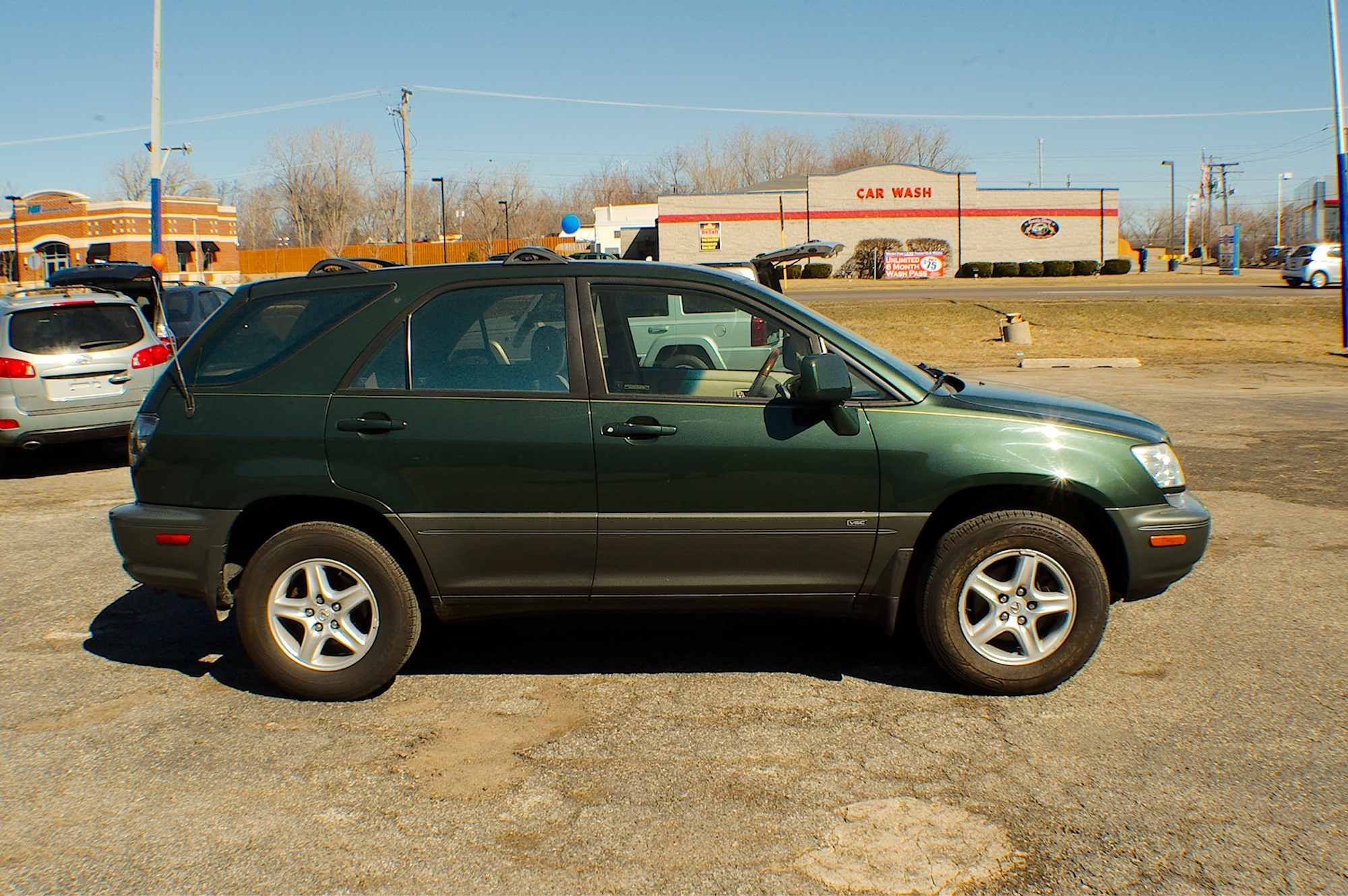 2001 Lexus RX300 Green Used SUV Sale Bannockburn Barrington Beach Park