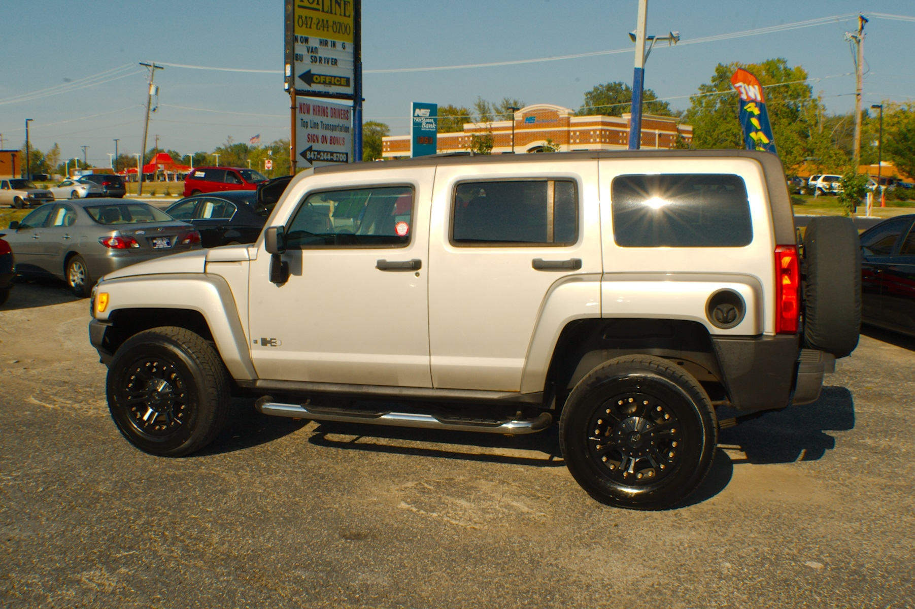 2006 Hummer H3 Pewter 4x4 SUV Used Car Sale Bannockburn Barrington Beach Park