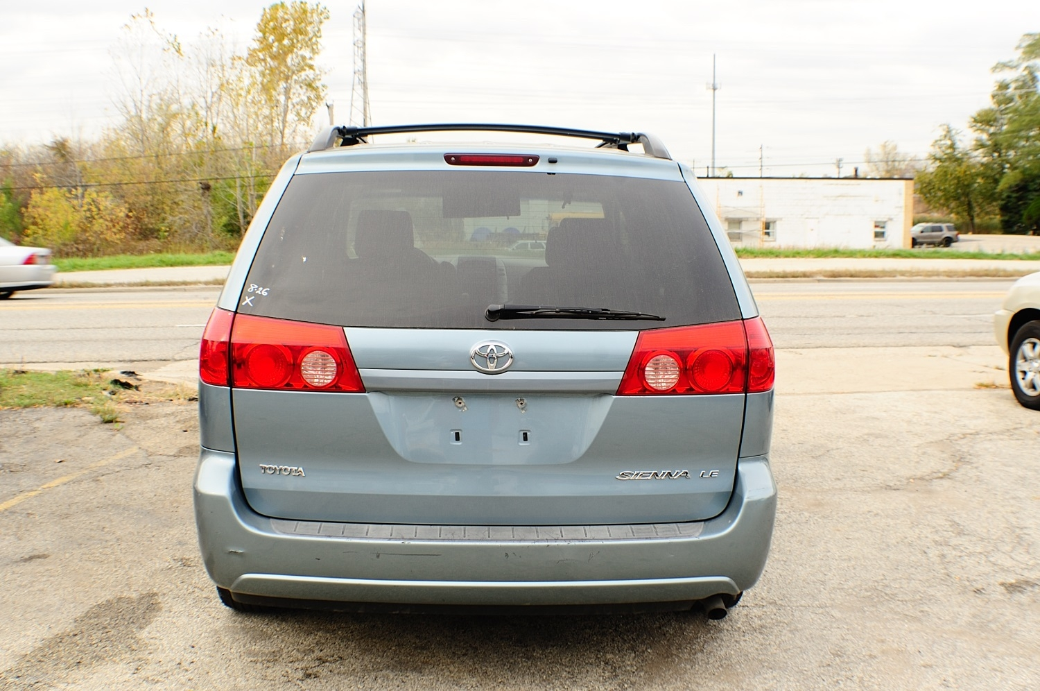 2006 Toyota Sienna LE Blue used Mini Van sale Buffalo Grove Deerfield Fox Lake