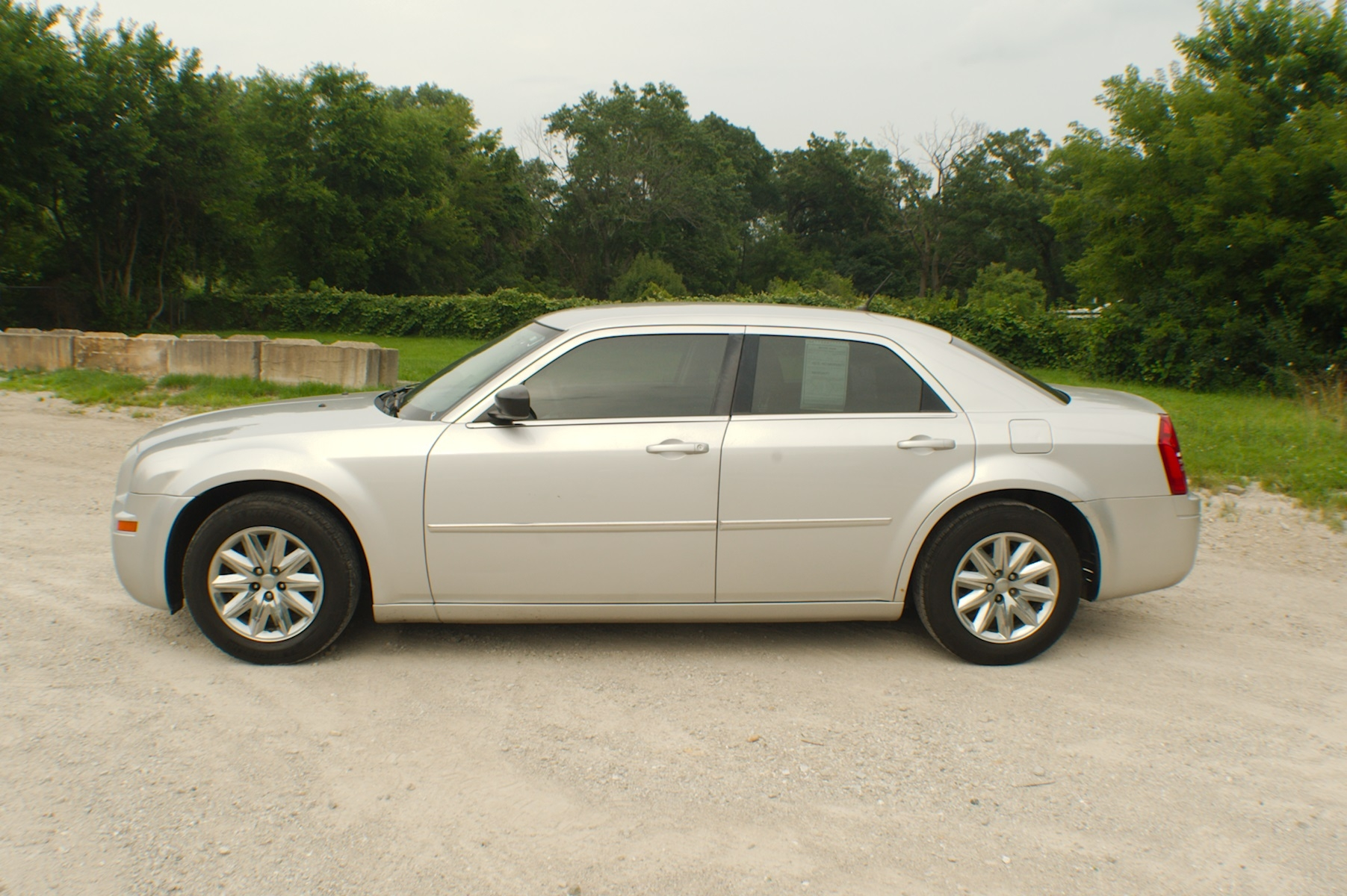 2008 Chrysler 300 Silver Sedan Used Car Sale Antioch Zion Waukegan Lake County Illinois