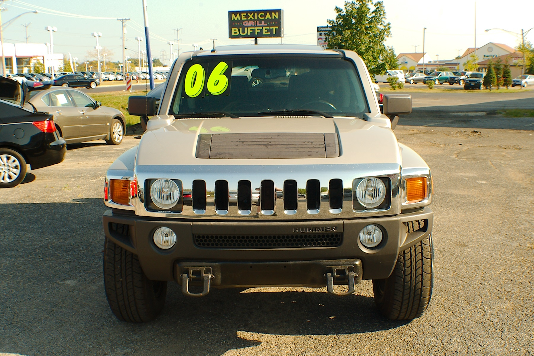 2006 Hummer H3 Pewter 4x4 SUV Used Car Sale Gurnee Kenosha Mchenry Chicago Illinois