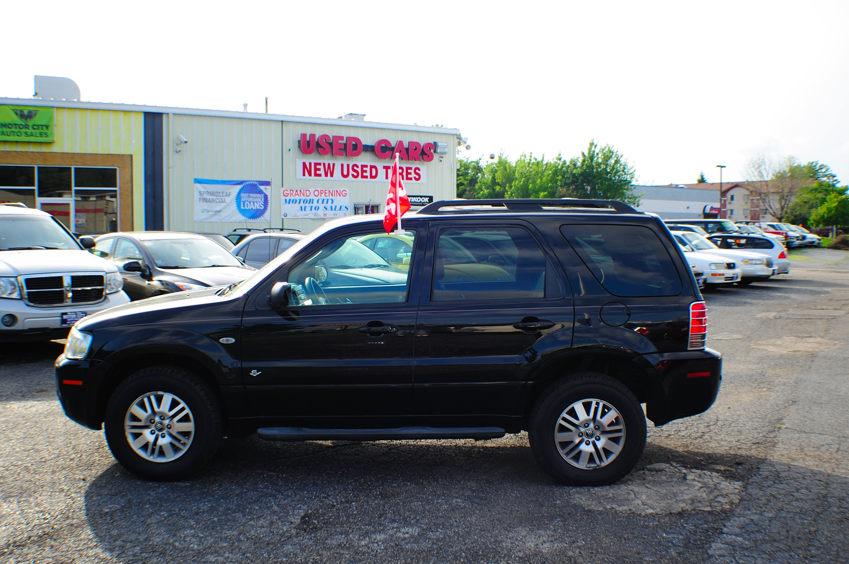 2006 Mercury Mariner Black AWD V6 Used SUV Wagon Sale Antioch Grayslake