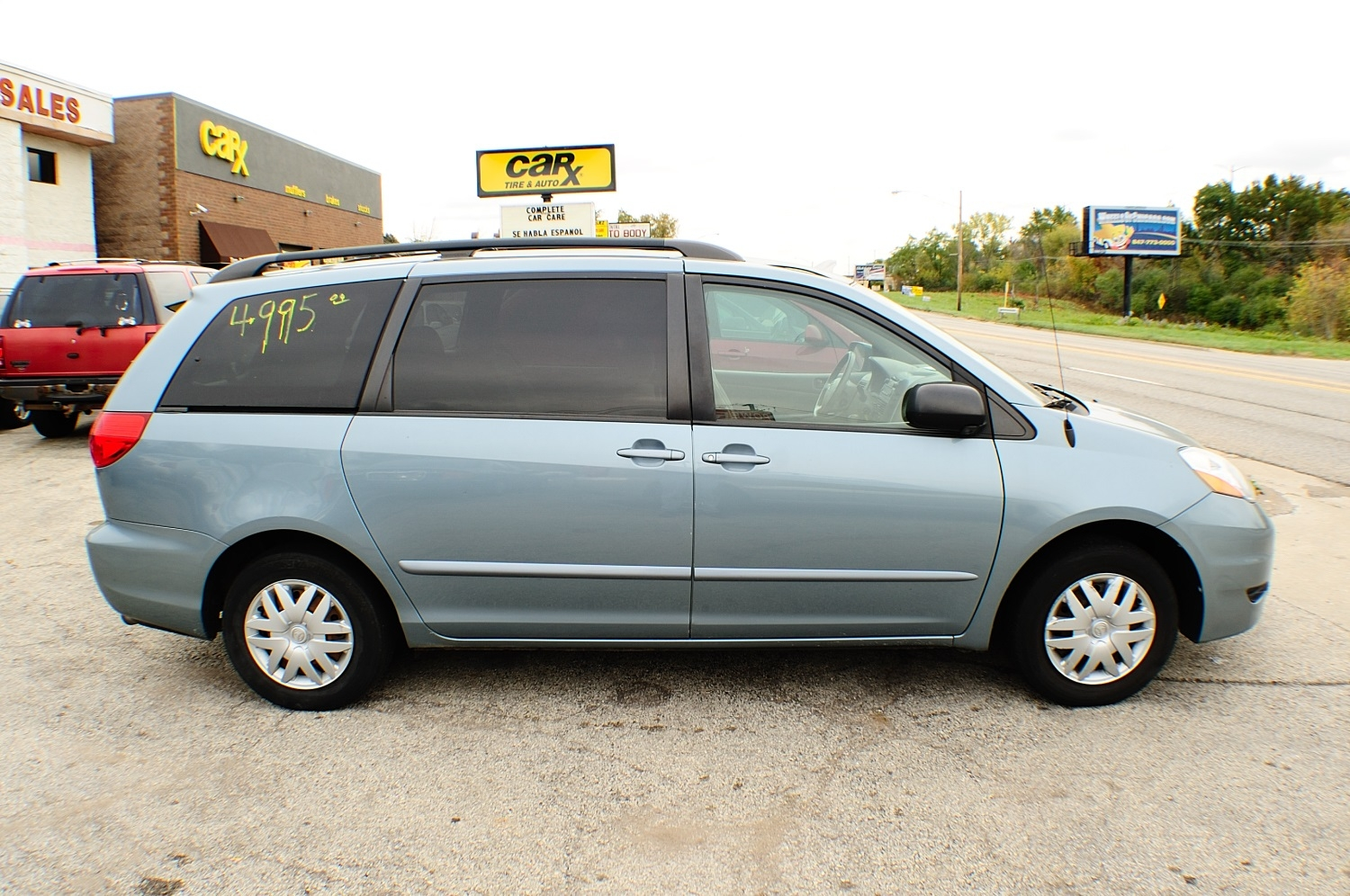 2006 Toyota Sienna LE Blue used Mini Van sale Bannockburn Barrington Beach Park