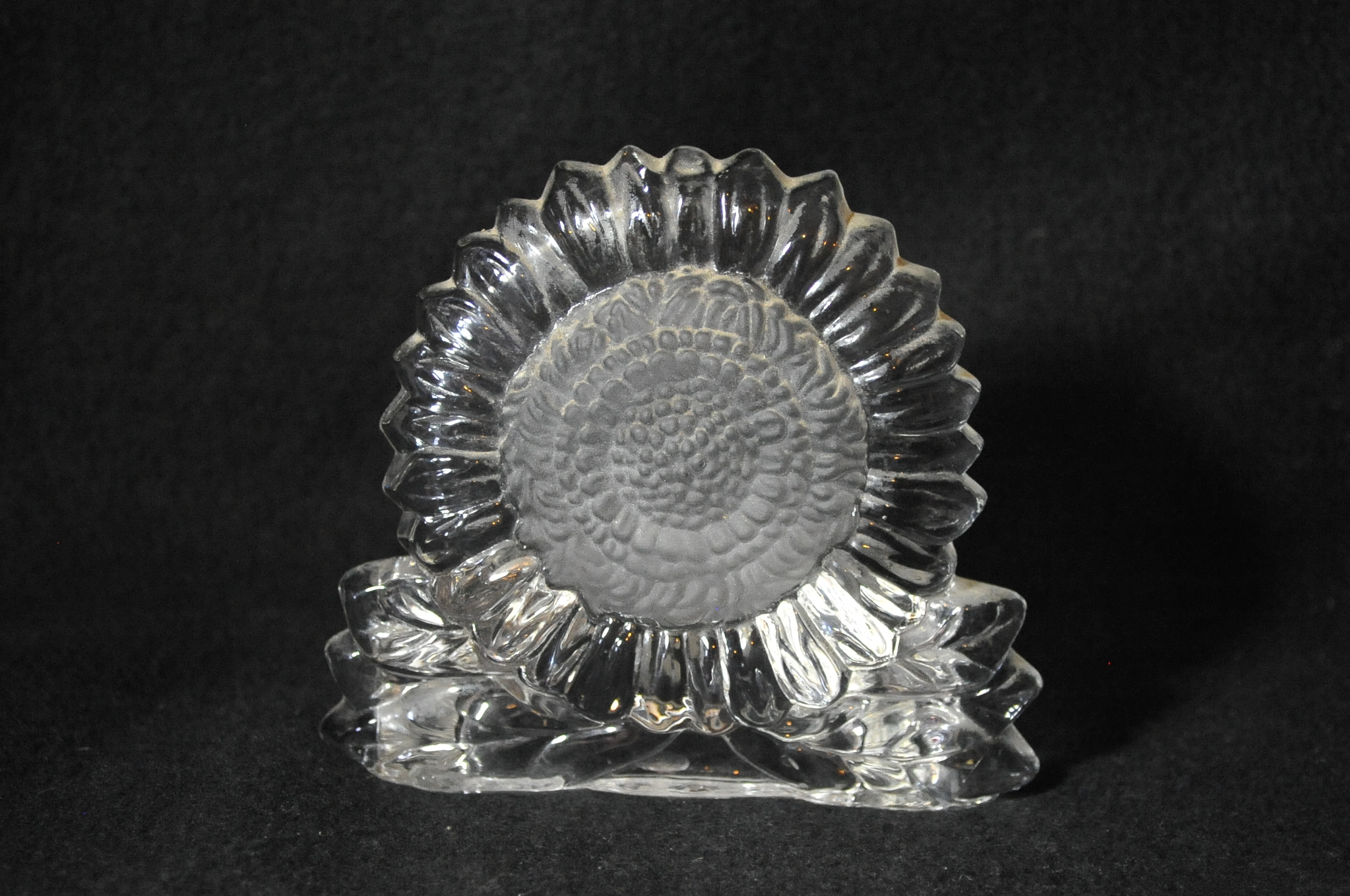Party Lite Sunflower Tea Light Candle Holder sale best price glass
