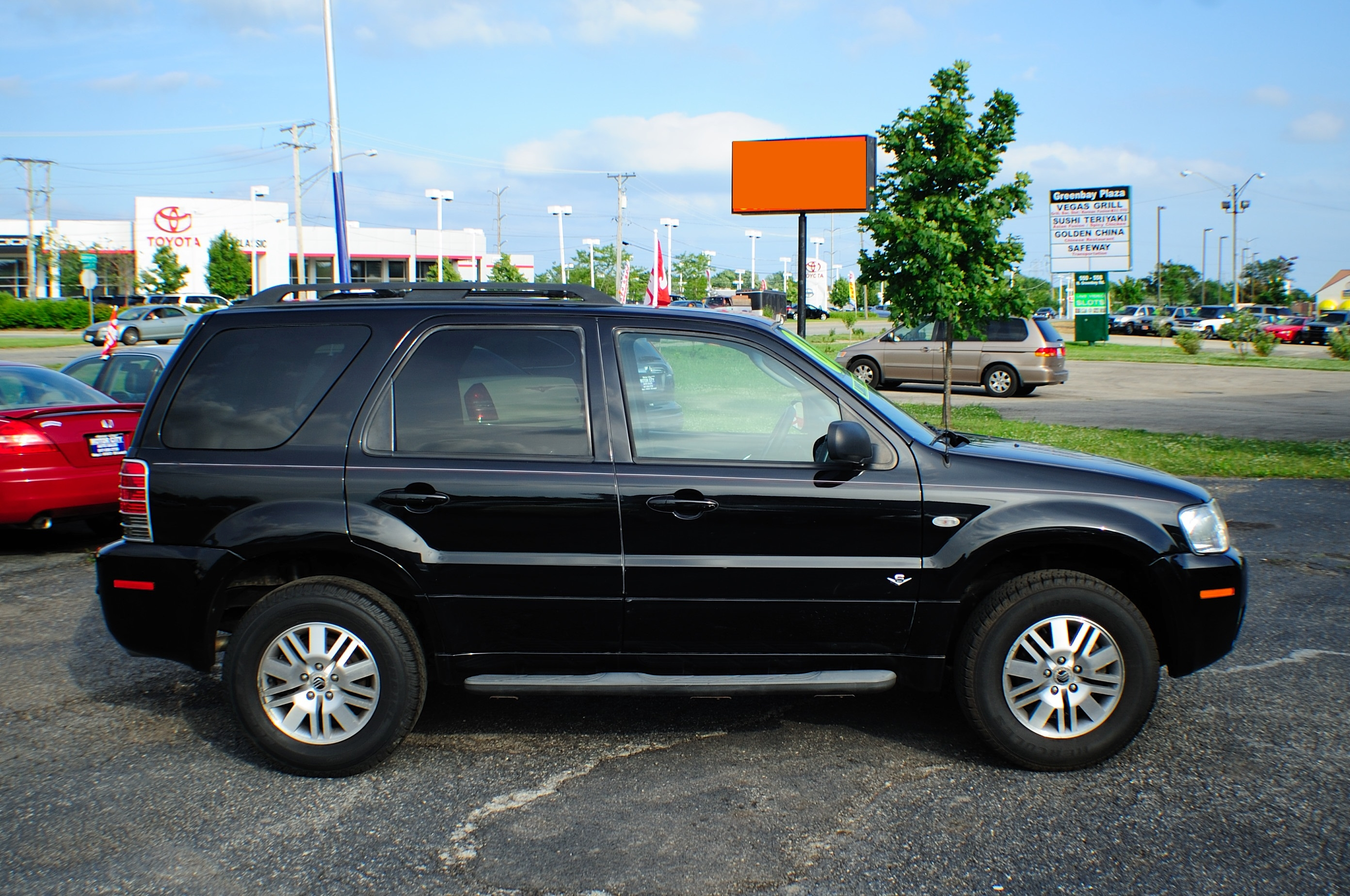 2006 Mercury Mariner Black AWD V6 Used SUV Wagon Sale Lindenhurst Gurnee