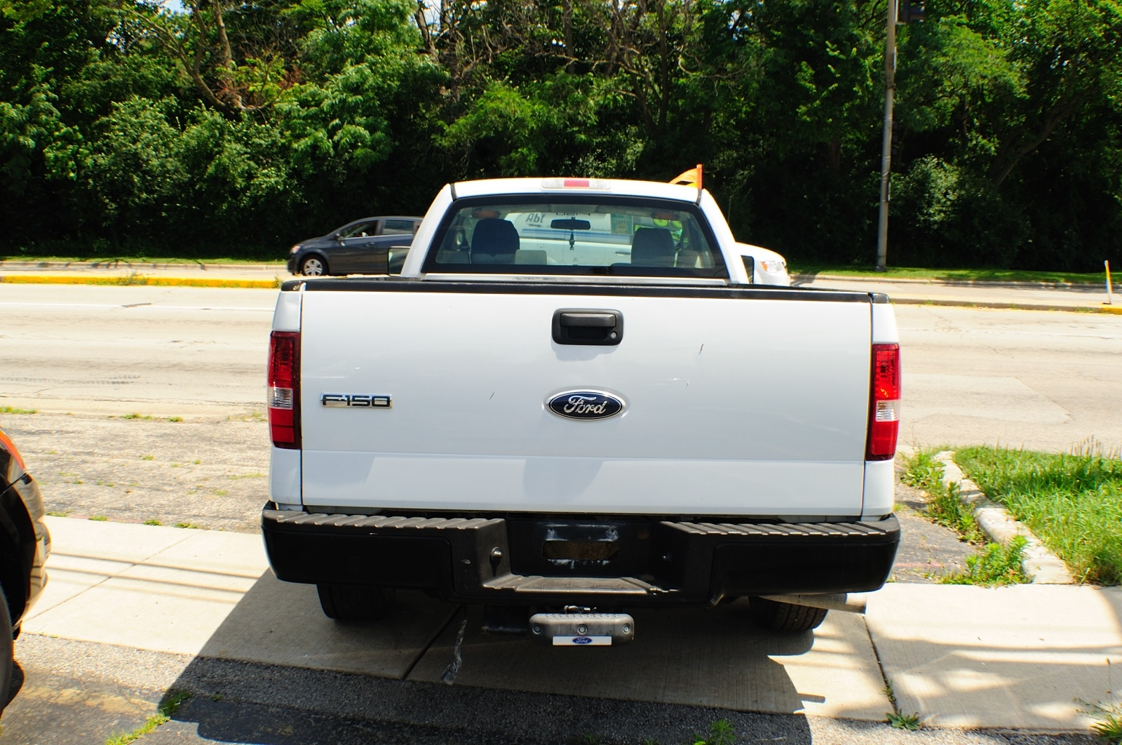2006 Ford F150 White Ext Cab 4x2 Used Pickup Truck Sale Gurnee Hanover Park Hoffman Estates Lombard