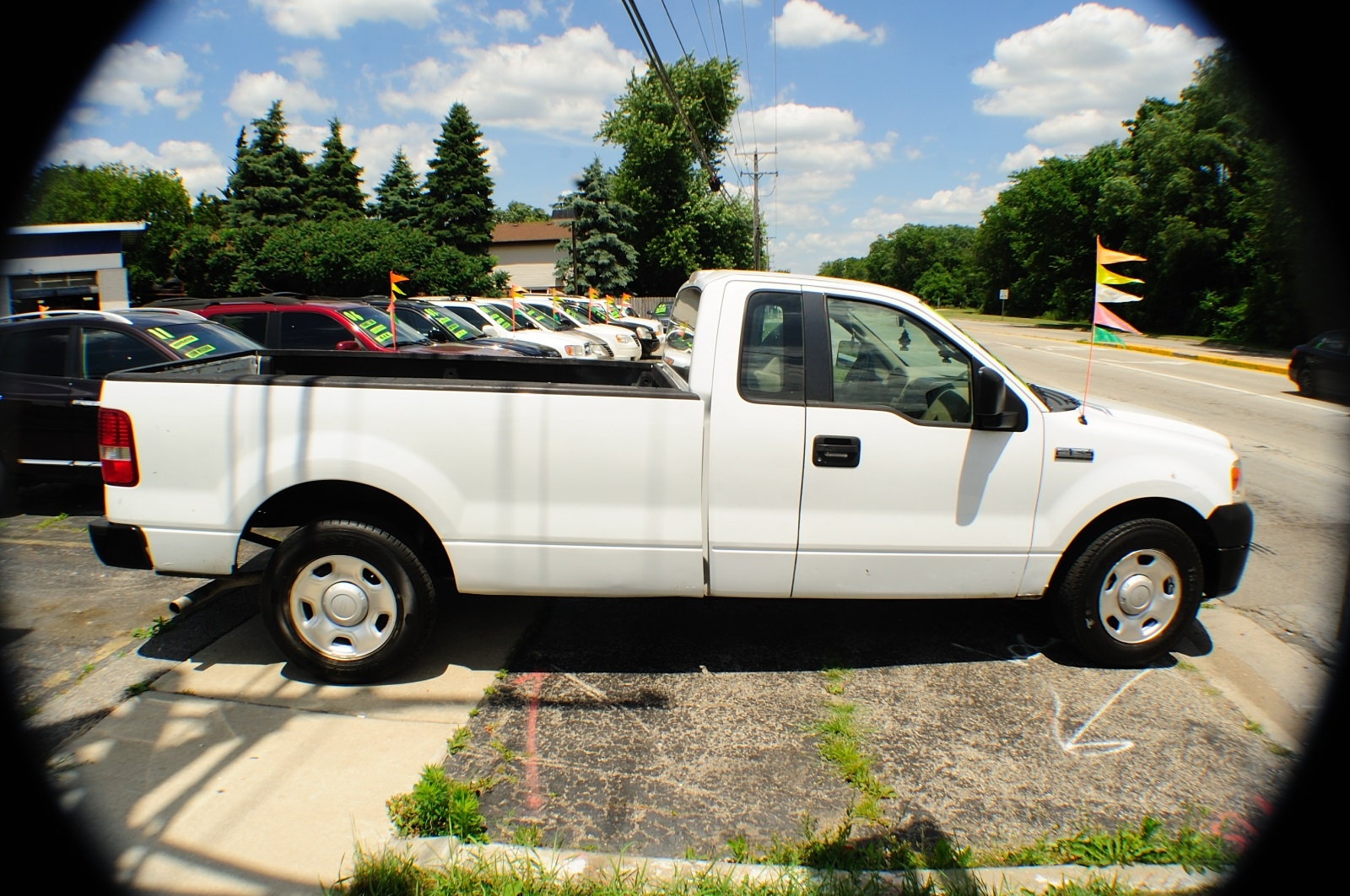 2006 Ford F150 White Ext Cab 4x2 Used Pickup Truck Sale Downers Grove Carpentersville Cicero Oak Park