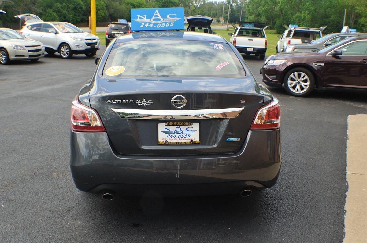 2013 Nissan Altima S Gray Used Sedan Sale Buffalo Grove Deerfield Fox Lake Antioch