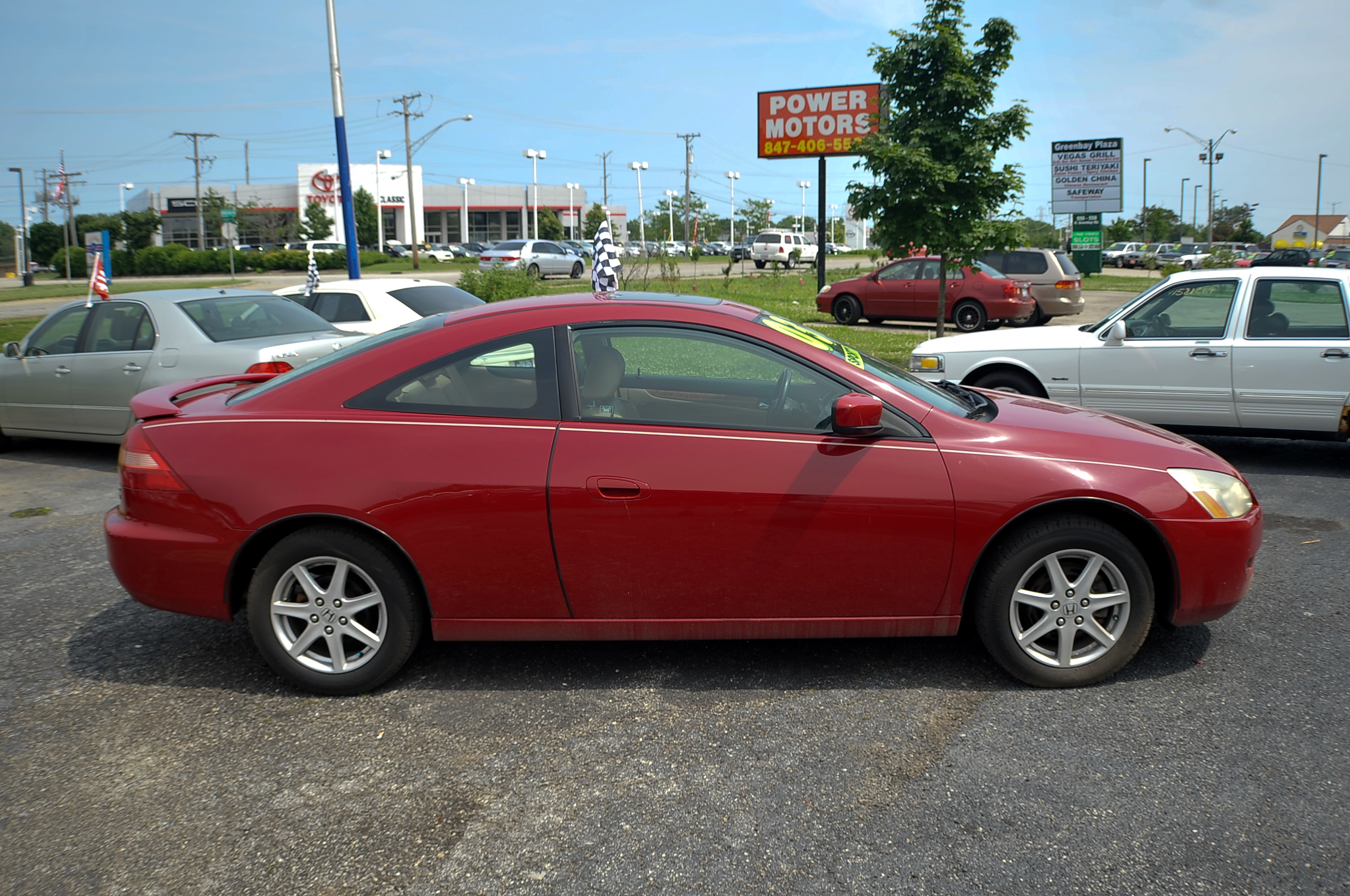 ... 2003 Honda Accord Red V6 Sport Coupe Used Car Sale Beach Park  Lindenhurst ...