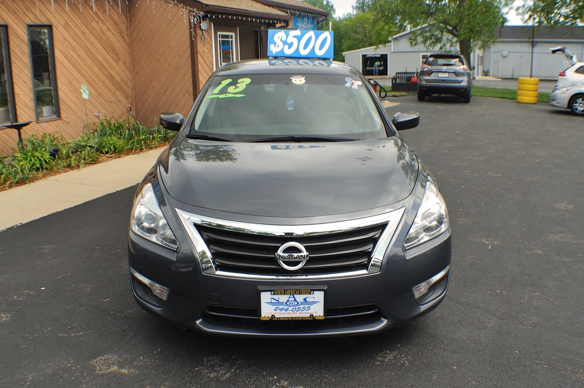 2013 Nissan Altima S Gray Used Sedan Sale Gurnee Kenosha Mchenry Chicago Illinois