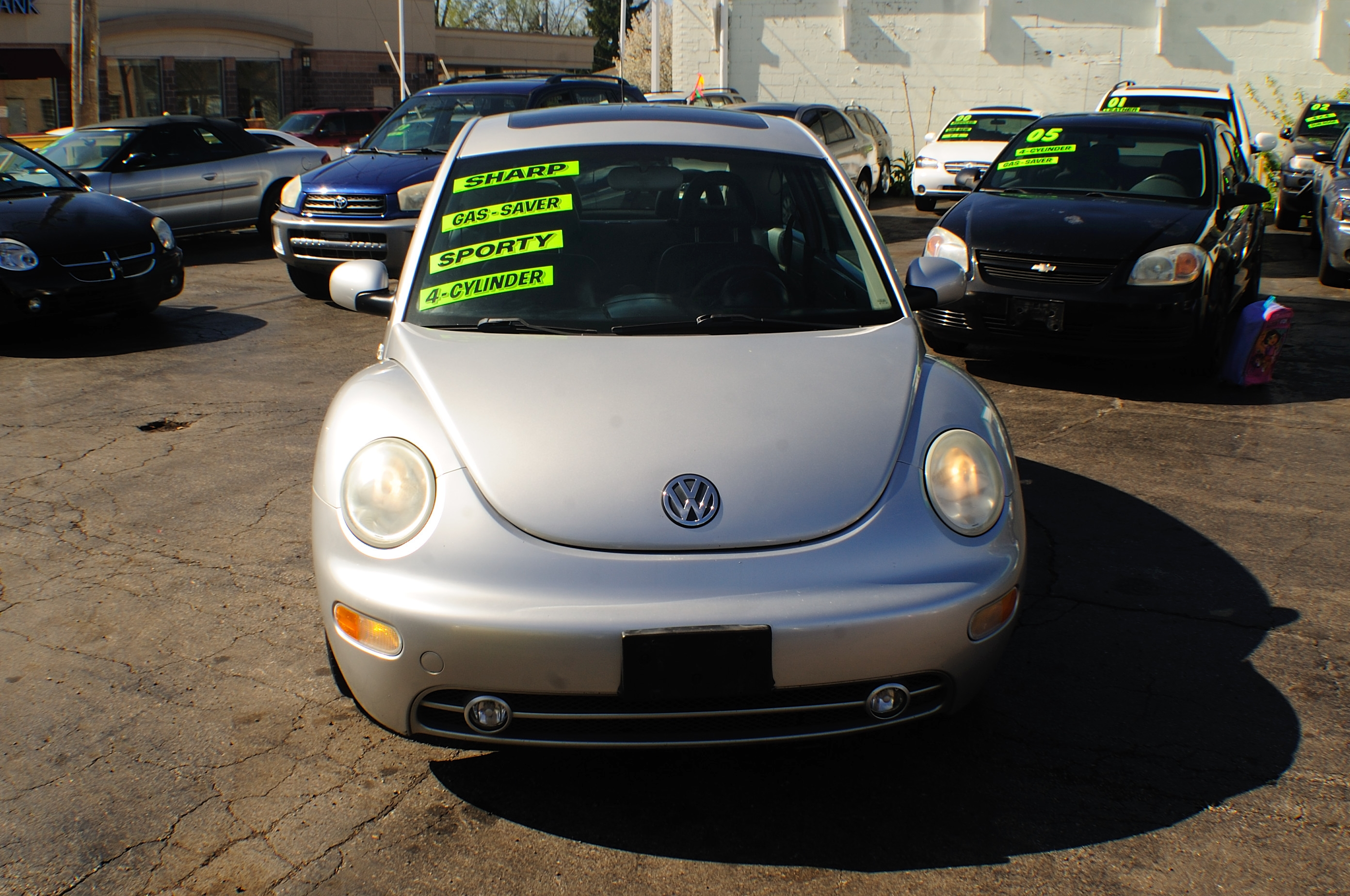 2001 Volkswagen Beetle Silver Used Car