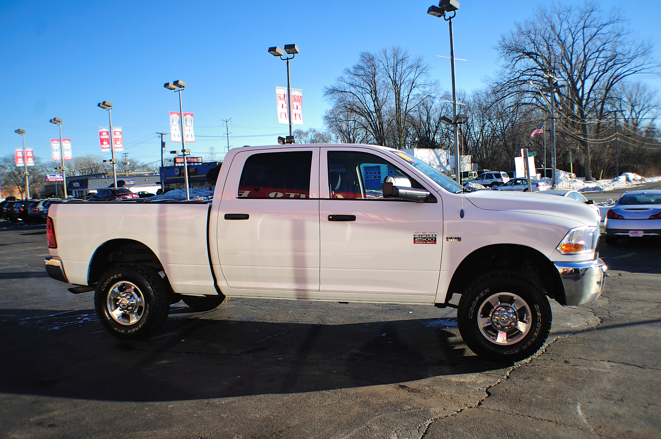 2010 Dodge Ram 2500 HD White Used 4x4 Truck Sale Bannockburn Barrington Beach Park